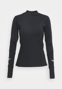 Björn Borg - NIGHT WARMBRUSHED - Long sleeved top - black beauty - 0