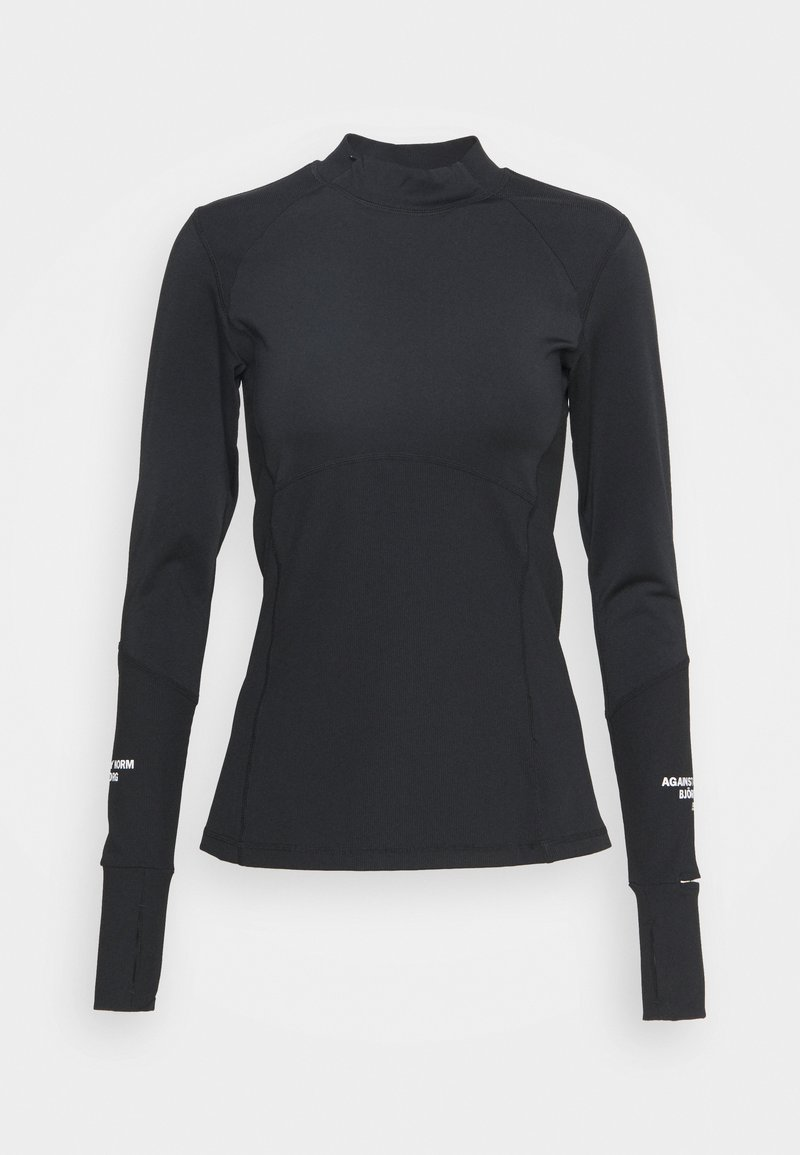 Björn Borg - NIGHT WARMBRUSHED - Long sleeved top - black beauty
