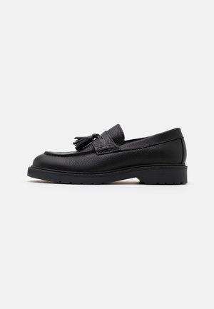 SLHTIM TASSEL LOAFER - Scarpe senza lacci - black