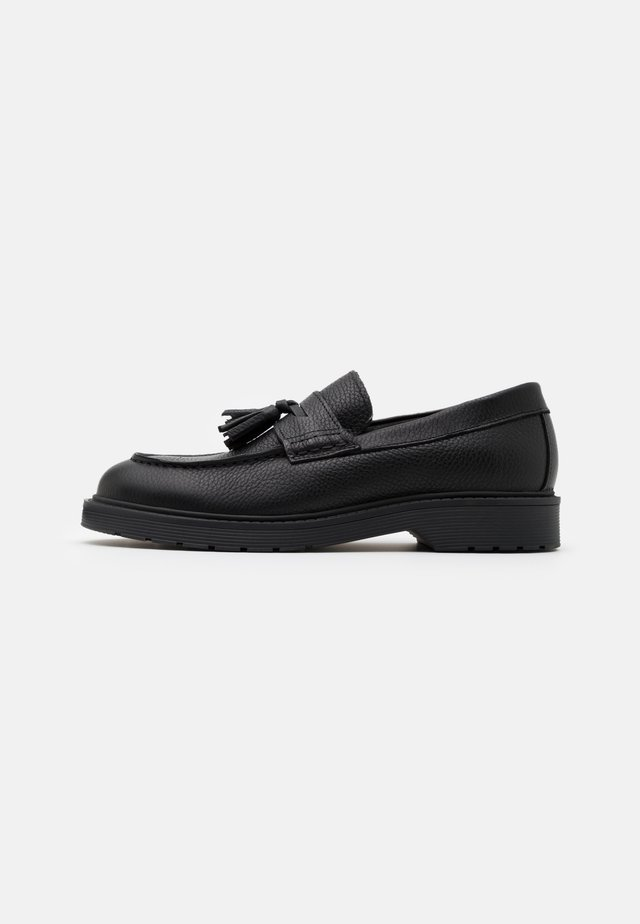 SLHTIM TASSEL LOAFER - Mocasines - black