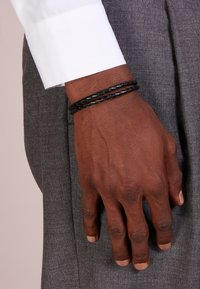 Paul Smith - BRACELET ENAMEL - Armband - black - 1