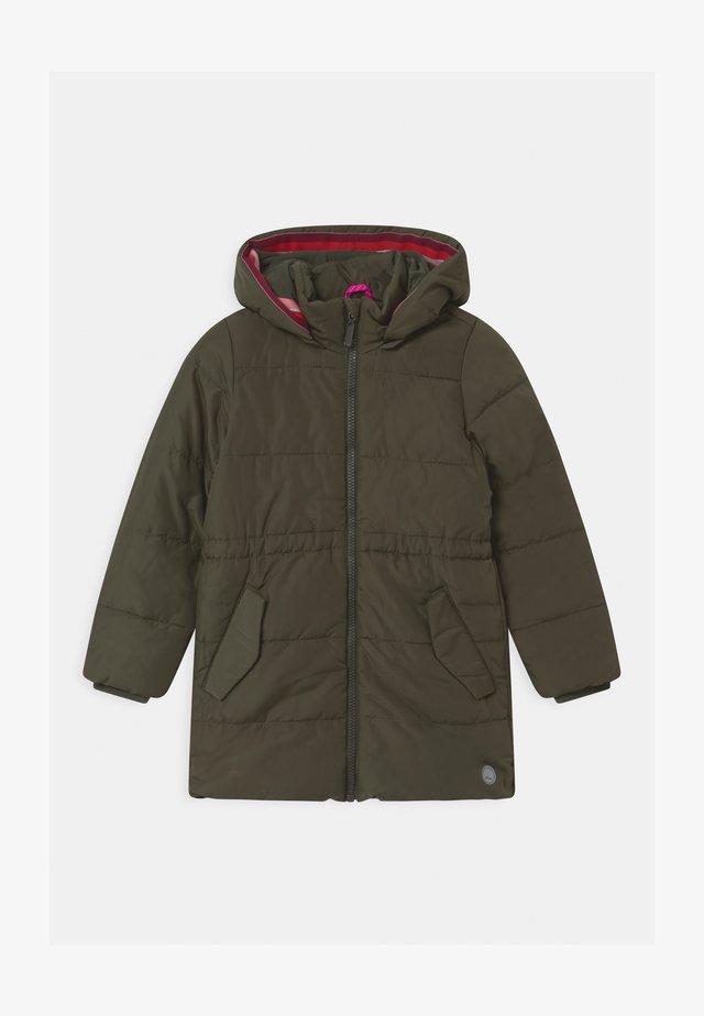 Zimní kabát - khaki/oliv