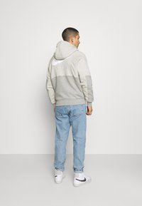Nike Sportswear - AIR - Bluza rozpinana - grey heather/grey heather/white - 2