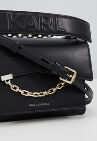 KARL LAGERFELD - SEVEN SHOULDERBAG - Across body bag - black - 7