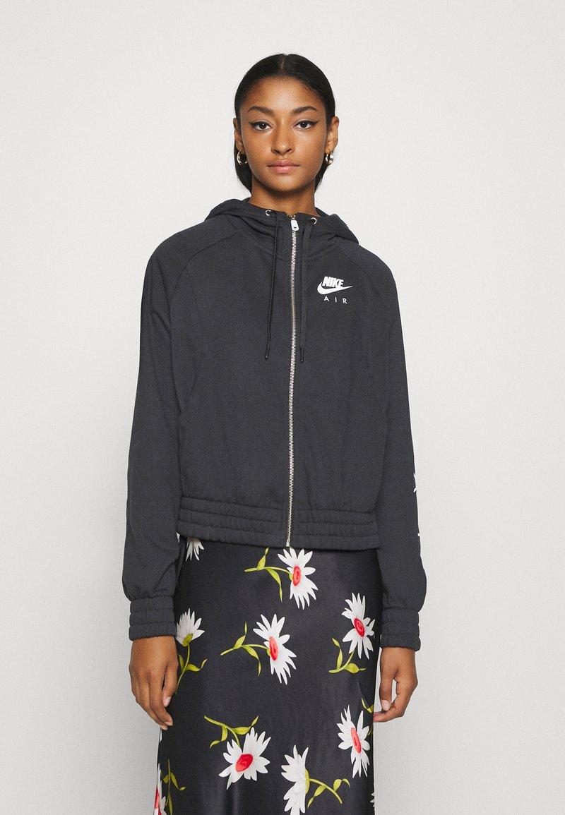 Nike Sportswear - Sudadera con cremallera - black/white