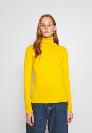 TURTLE NECK - Strikkegenser - mustard