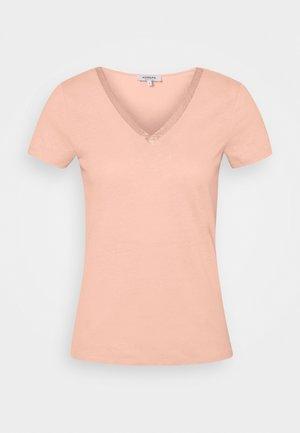 DORE - Print T-shirt - nude