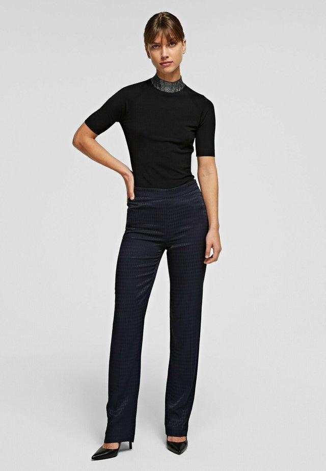 CAMEO LOGO  - Pantalon classique - dark blue