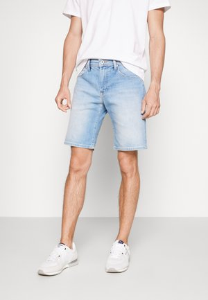 CANE PRIDE - Denim shorts - denim