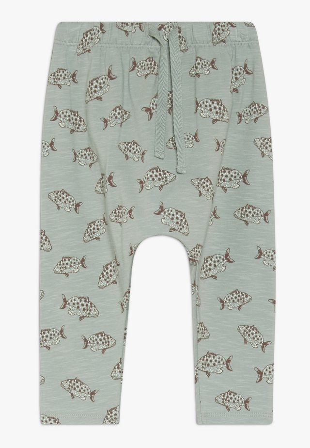 HAILEY PANTS FISH - Trousers - jadeite