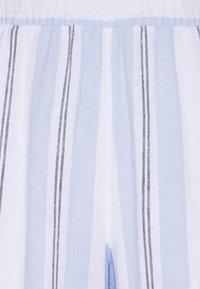 Marks & Spencer London - STRIPE CROP  - Bukse - blue - 2