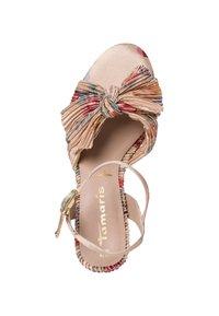 Tamaris - High heeled sandals - beige flower - 2