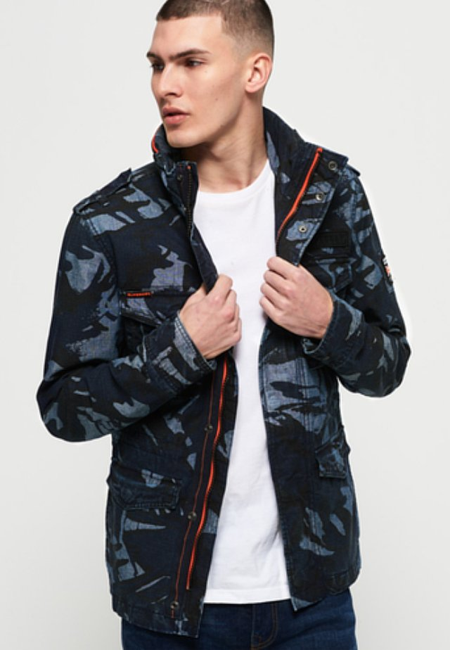 Summer jacket - camo ripstop