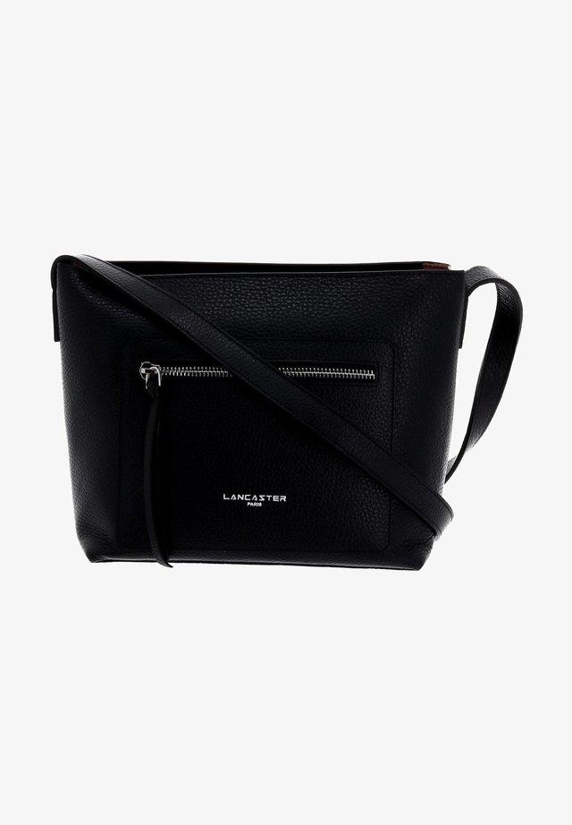 Handbag - black / nude