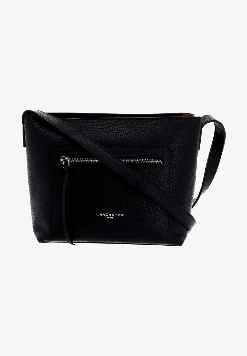 LANCASTER - Handbag - black / nude