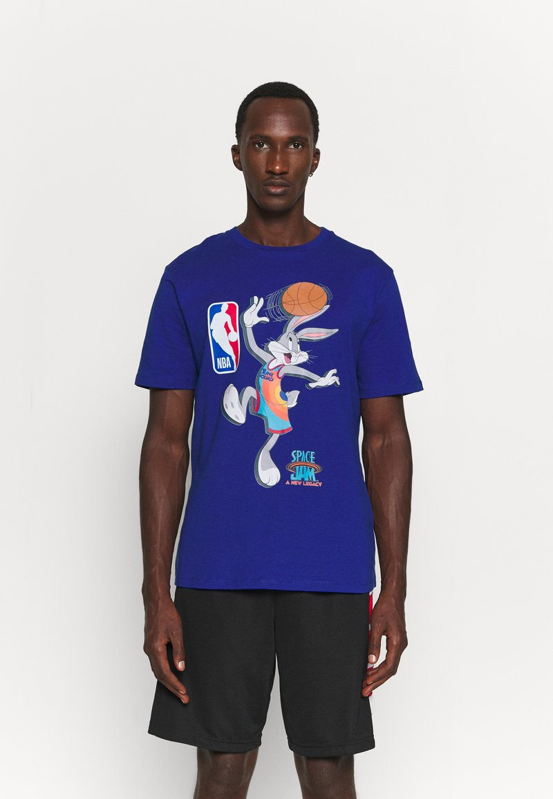 Outerstuff - NBA SPACE JAM 2 THE HOOK TEE - Print T-shirt - blue