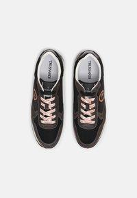 Trussardi - ABAX PRINT MIX - Sneakers - black - 3