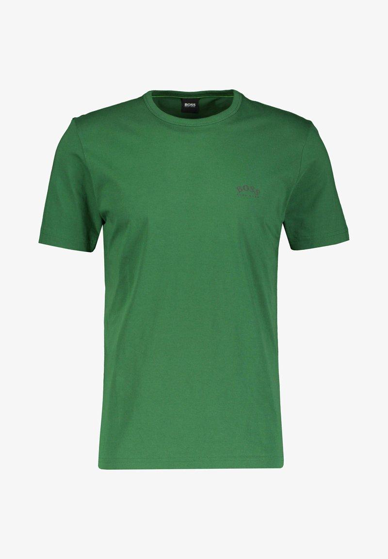 BOSS - TEE CURVED - Basic T-shirt - grün