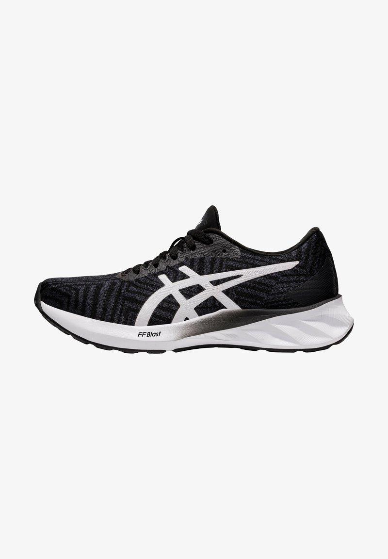 ASICS - ROADBLAST - Neutral running shoes - black/white