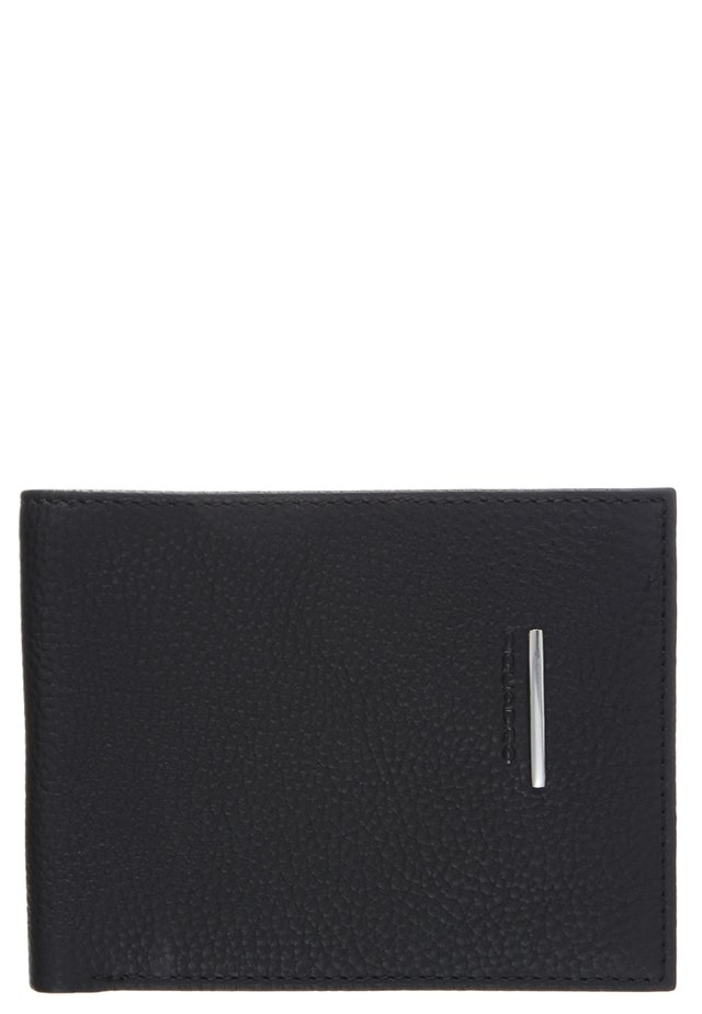 WALLET WITH COIN - Portemonnee - nero
