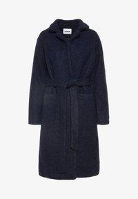 Noisy May - NMZOE  WOOLEN COAT - Klasyczny płaszcz - dark blue - 5