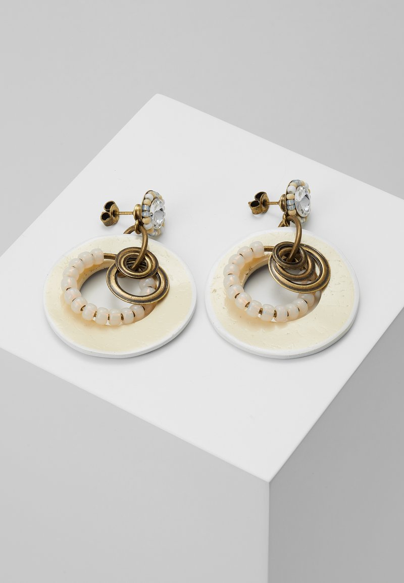 Konplott - MASSAI GOES FISHING - Earrings - gold-coloured