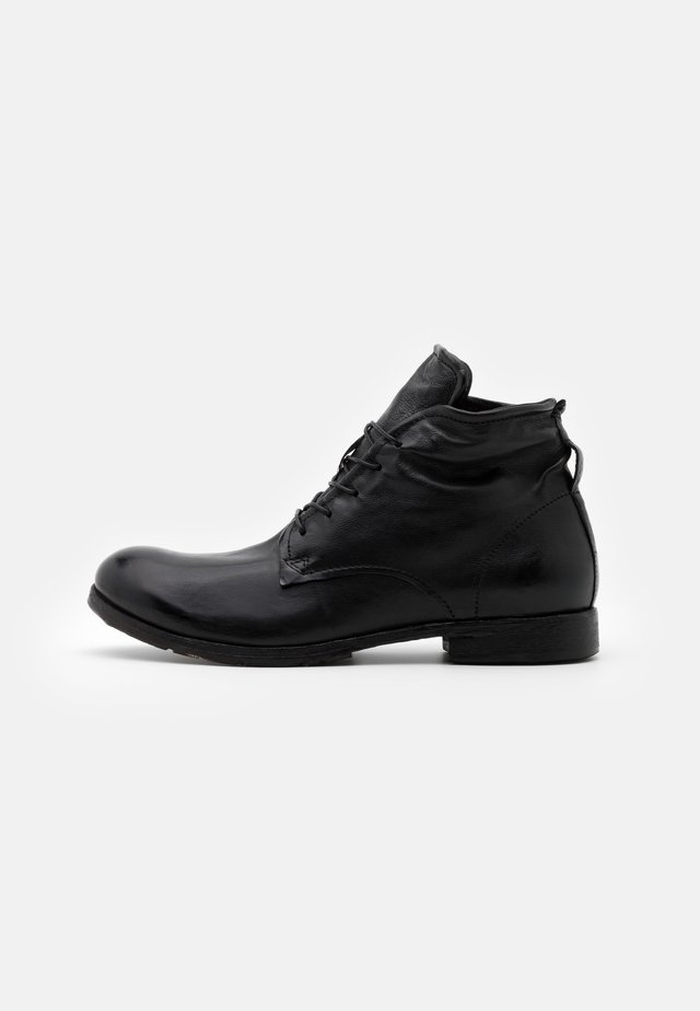 CLASH - Bottines à lacets - nero