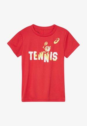 TENNIS GRAPHIC  - Sportshirt - classic red