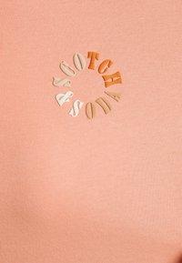 Scotch & Soda - CREW NECK TEE - T-shirt basic - flamingo pink - 2