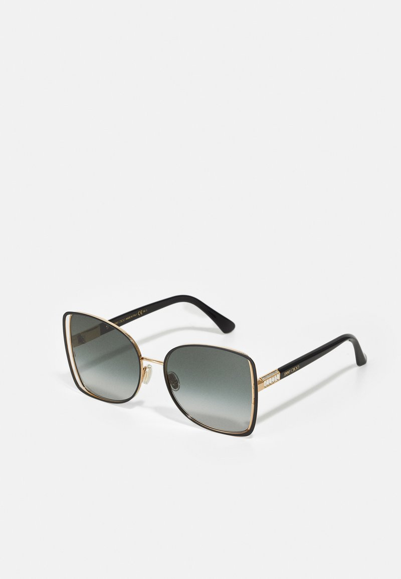 Jimmy Choo - FRIEDA - Sunglasses - black/gold-coloured