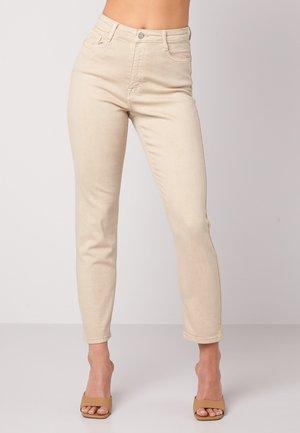 LANA  - Jeans slim fit - beige