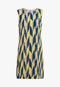 M Missoni - ABITO SENZA MANICHE - Day dress - yellow/blue - 3