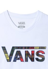 Vans - MN PATCH UP V SS - Print T-shirt - white
