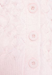 Missguided Petite - FEATHER POINTELLE CARDI - Cardigan - pink - 2