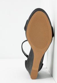 Call it Spring - JOSSET - Sandali con tacco - black - 6