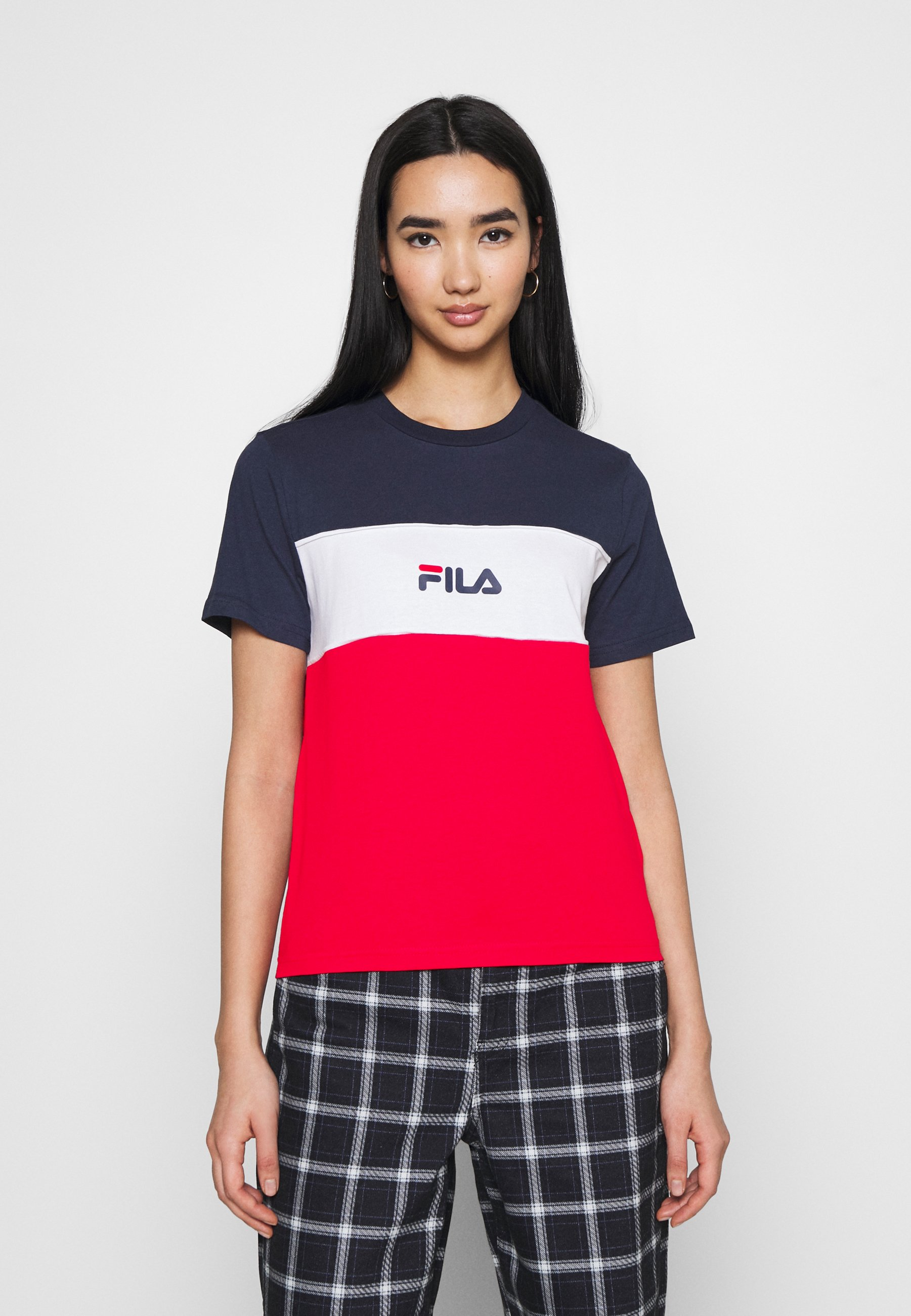 Damen ANOKIA BLOCKED TEE - T-Shirt print