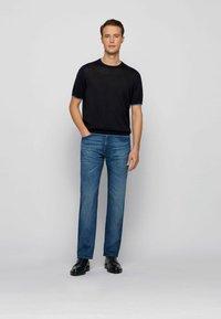 BOSS - Straight leg jeans - blue - 1