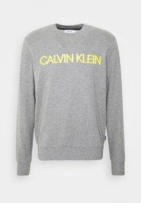 Calvin Klein - EMBROIDERY LOGO - Sweatshirt - grey - 4