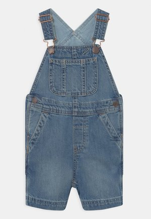 TODDLER BOY SHORTALL - Lacláče - blue denim