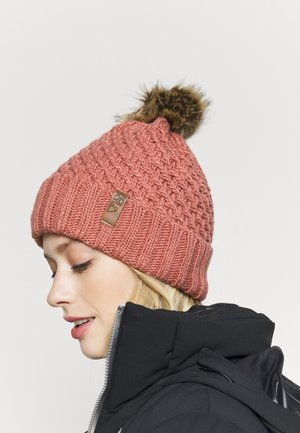 BLIZZARD BEANIE - Bonnet - dusty rose