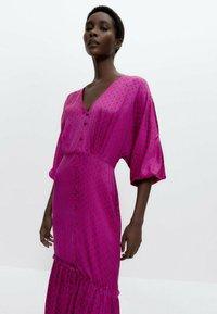 Uterqüe - Day dress - pink - 3