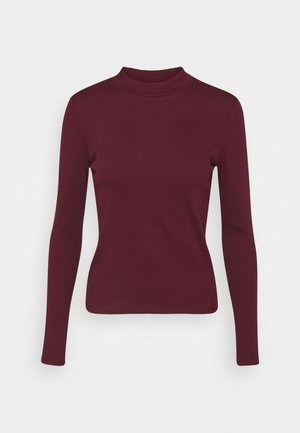 SAMINA - Long sleeved top - red dark