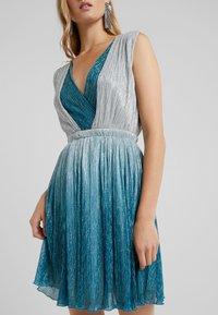 LIU JO - ABITO - Vestito elegante - ocean gard/platino - 6