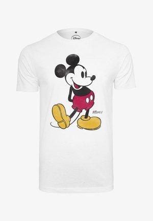 MICKEY MOUSE  - Camiseta estampada - white
