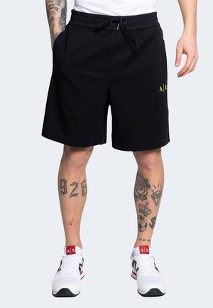 LOGO BANDA LIME - Shorts - black