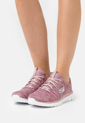 GRACEFUL - Zapatillas - mauve/white