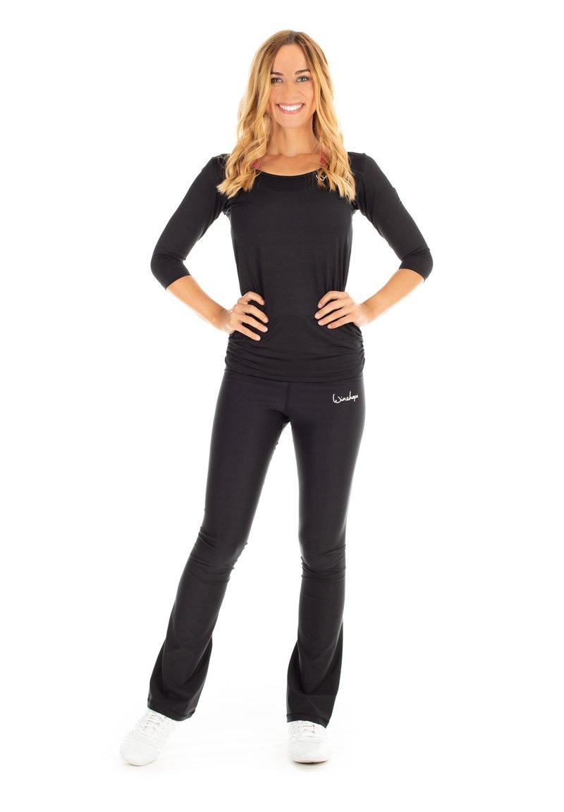 Winshape - BCHWL102 HIGH WAIST TIGHTS - Leggings - black