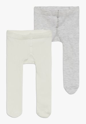 TIGHTS BABY 2 PACK - Panty - light grey melange