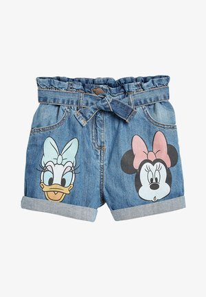PAPERBAG - Denim shorts - blue