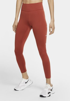 ONE 7/8 - Leggings - firewood orange/white